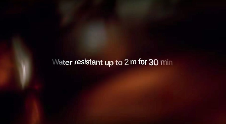 El iPhone 11 resiste el agua