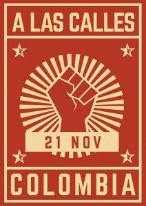 Marcha del 21 de noviembre en Colombia