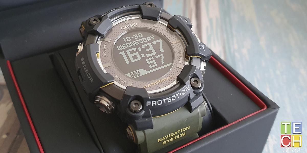 Smartwatch Casio G-Shock Rangeman