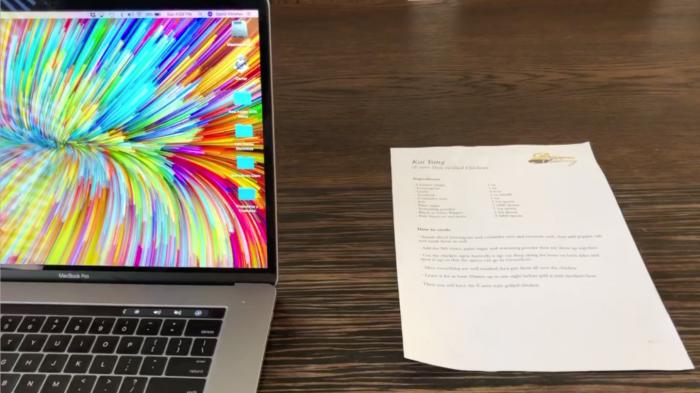 ¿Sabe como escanear un documento directamente a su escritorio usando su iPhone?
