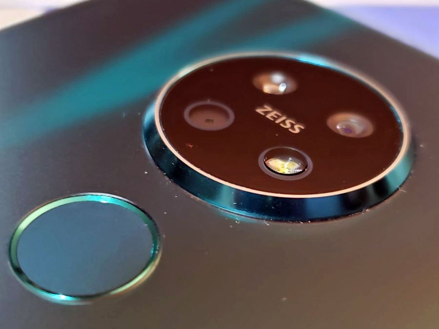 Cámaras posteriores del Nokia 7.2