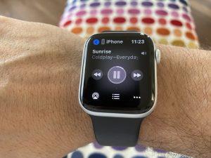 Apple Watch cancelando ruido
