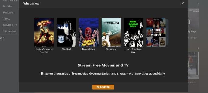 Plataforma streaming de Plex