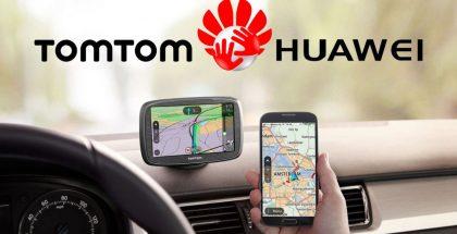 """App """"Tomtom"""" de Huawei que reemplazaría a Google Maps."""