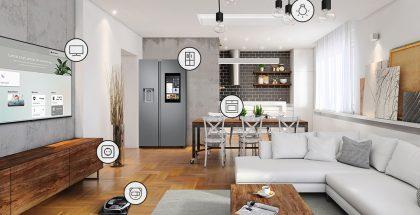 Iconografía de Samsung Connected Living
