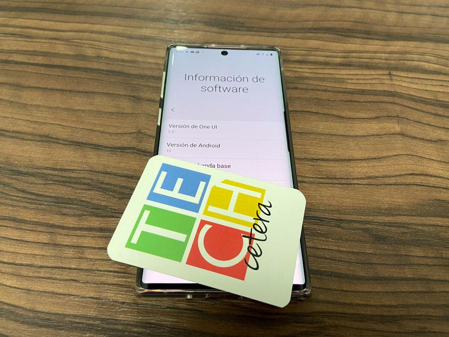 Techcetera le da información de Galaxy Note 10