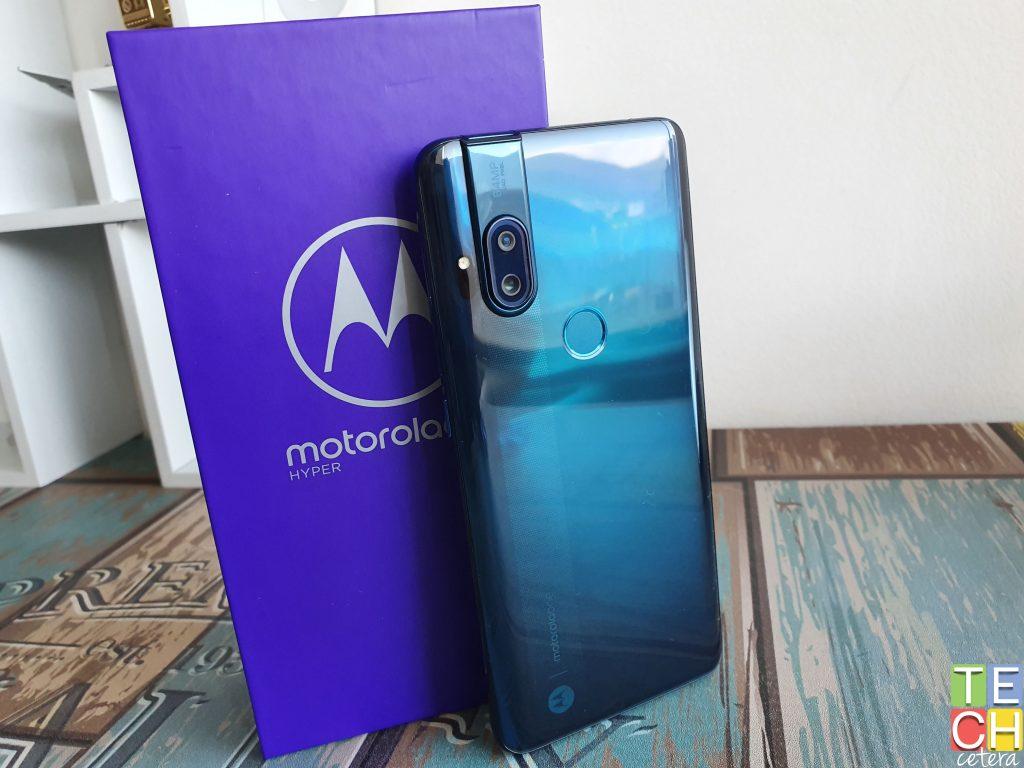 Imagen del diseño y color del nuevo Motorola