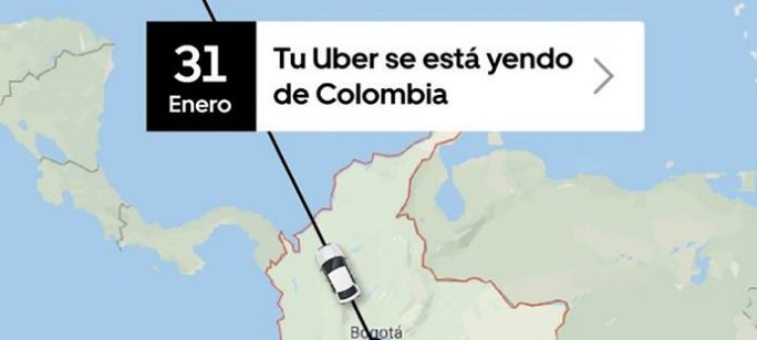 Salida de Uber de Colombia