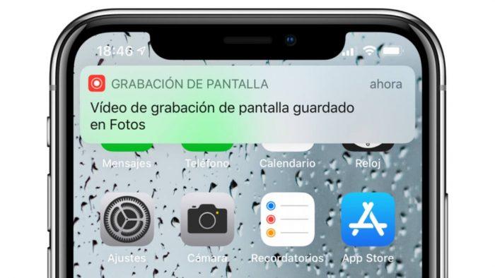 ¿Cómo grabar un video de su pantalla en iOS?