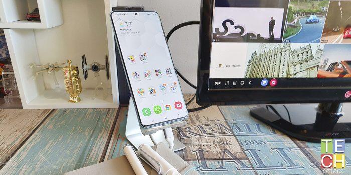 La última herramienta de productividad. Samsung DeX en el Galaxy S20 Plus