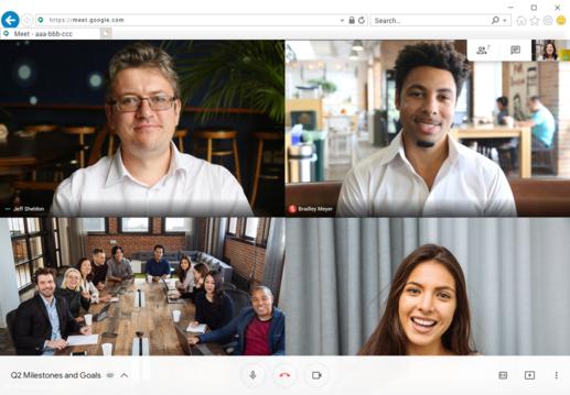 Guía rápida para aprender a usar Google Hangouts (Meet)