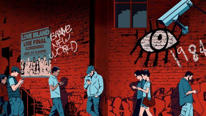¿Y si la pandemia nos lleva al escenario del Gran Hermano pronosticada por Orwell?