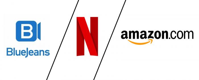 Verizon compra Blue Jeans, Netflix vuelve a valer más que Disney y Amazon la revienta (efectos del aislamiento)