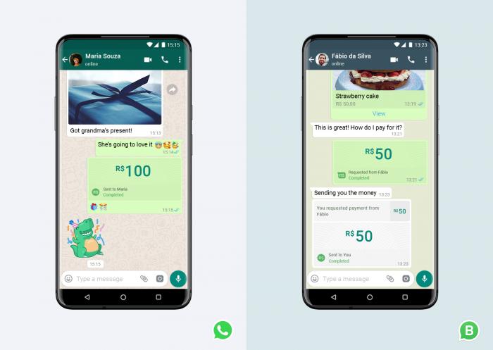 En Brasil ya puede pagar vía WhatsApp