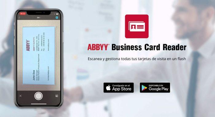 ABBYY BCR ¿Qué hacer con las tarjetas empresariales físicas?