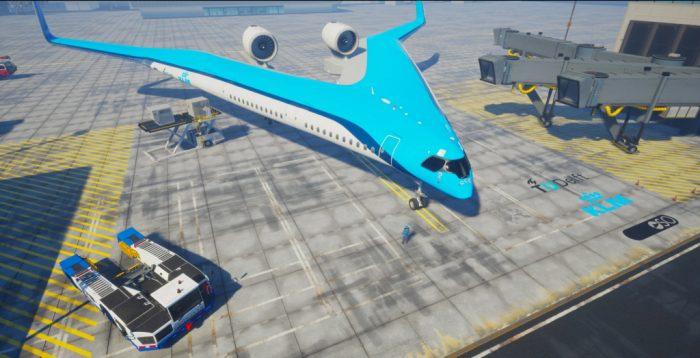 ¿Y si volamos en las alas del avión?