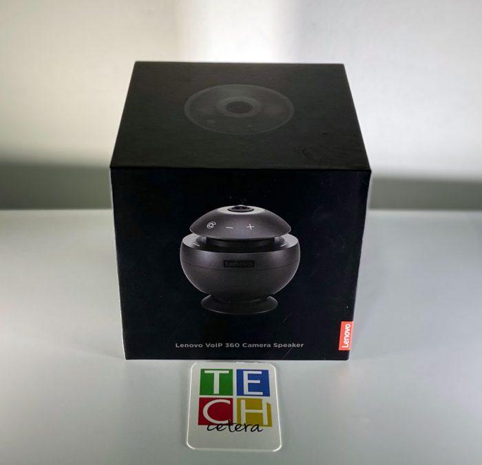 Lenovo VoIP 360: ¿Es una cámara? ¿Es un parlante? ¿Qué es?