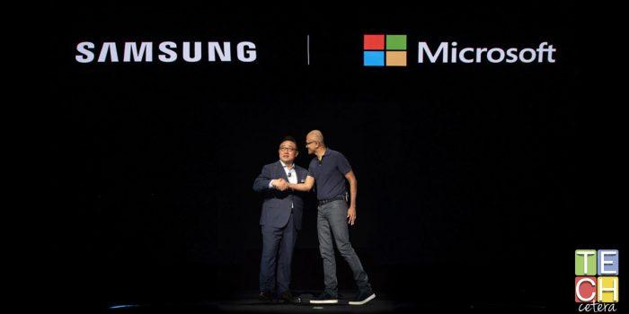 Samsung y Microsoft. El Comienzo de algo grande!