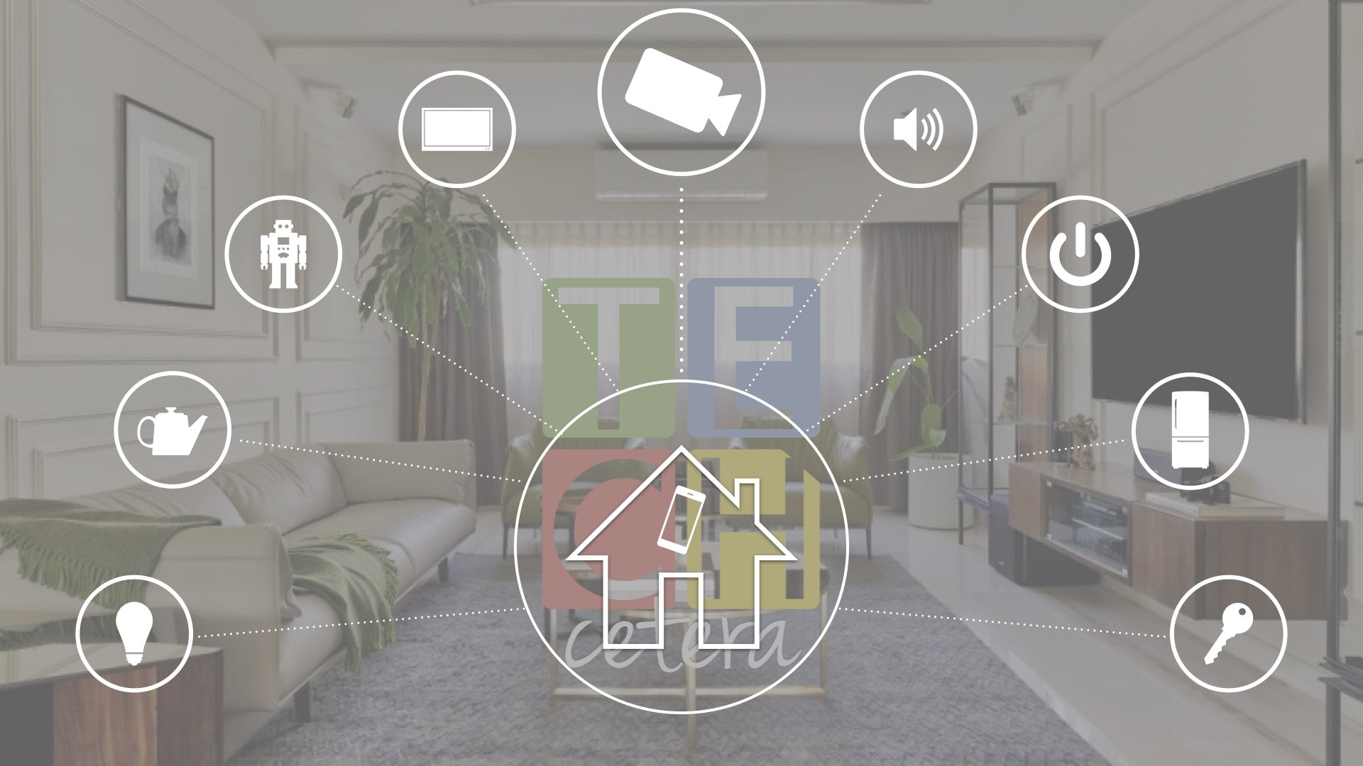 Elementos de un Hogar Inteligente (Cámaras y Sensores) | Techcetera