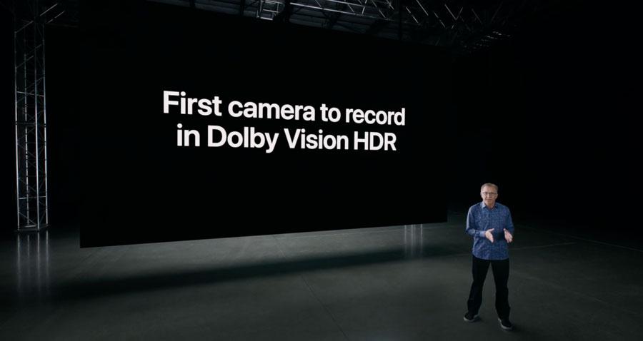 La capacidad de granar video en Dolby Vision HDR