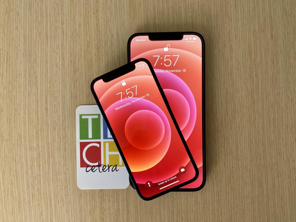 Mano a mano: iPhone 12 Mini y iPhone 12 Pro Max | Techcetera