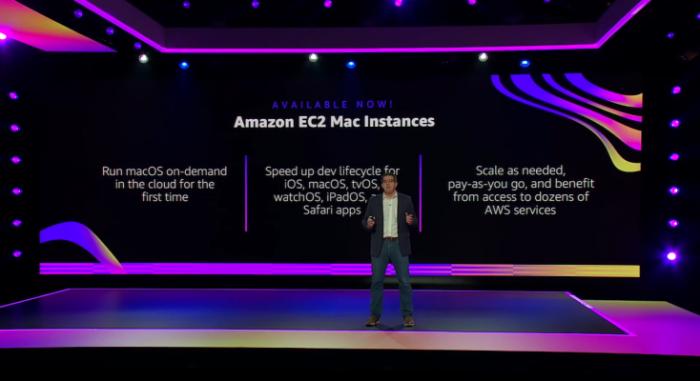 Amazon lleva macOS a la nube