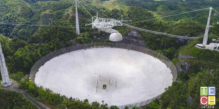 Un minuto de silencio, por el Observatorio de Arecibo