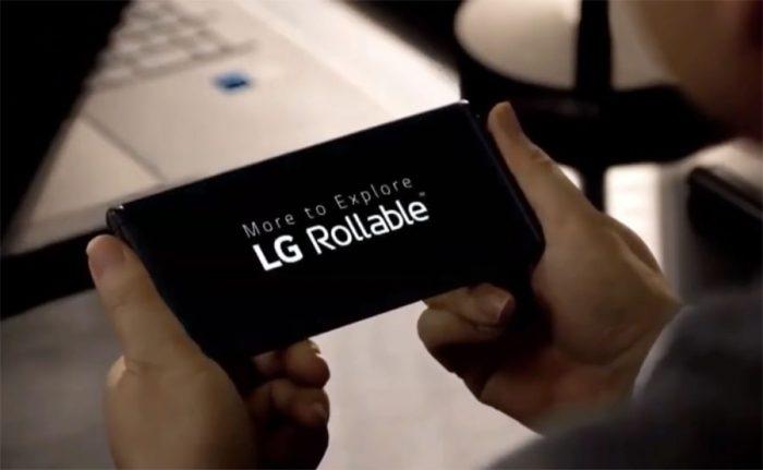 El futuro de los smartphones puede ser enrollable!