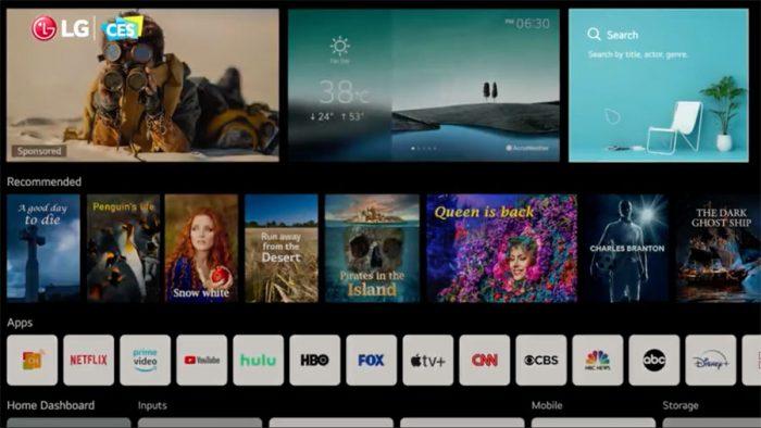 WebOS 6.0: Los TVS de LG son cada vez mejores!