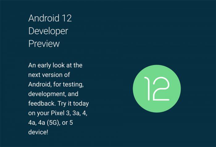 Ya salió la versión preliminar de Android 12!