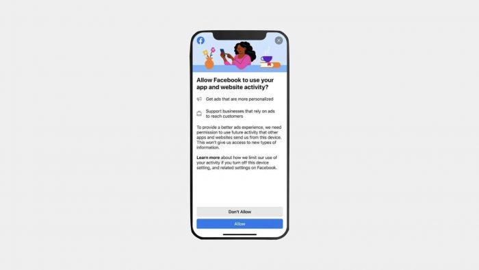 """Facebook le juega a la """"transparencia"""" en su disputa con Apple"""