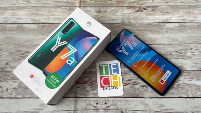 Huawei Y7a, lo necesario en un gama media!
