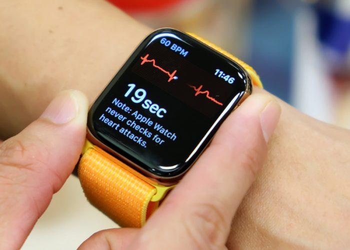 El Apple Watch puede predecir el COVID
