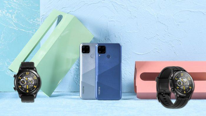 Realme C15, Watch S y Watch S Pro: más opciones para los usuarios!