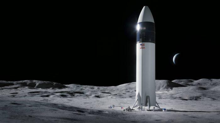 SpaceX llevará los próximos astronautas a la luna