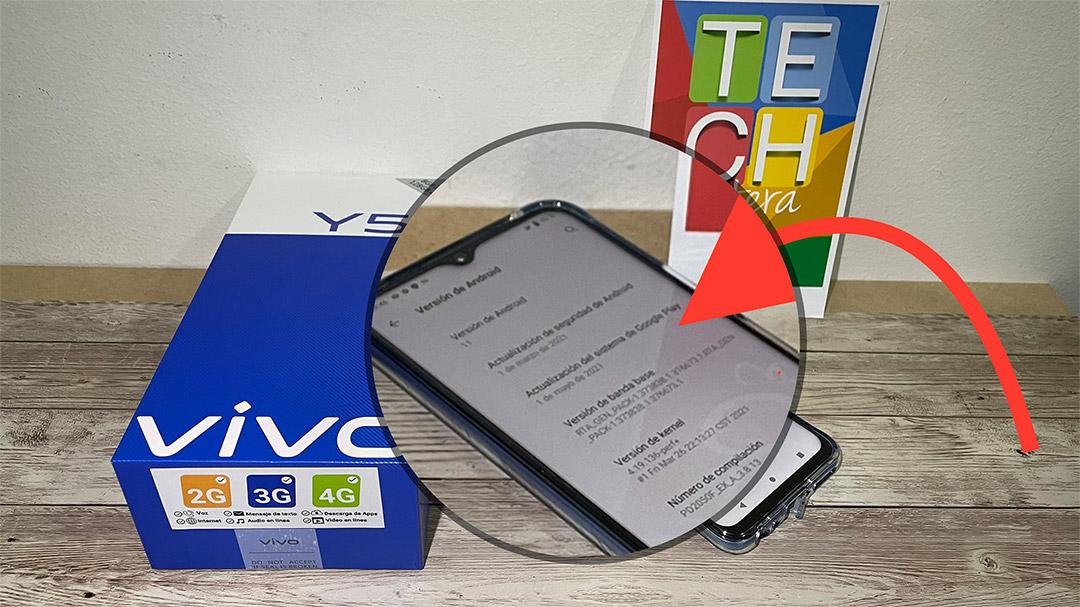 Versión de Android vivo Y51