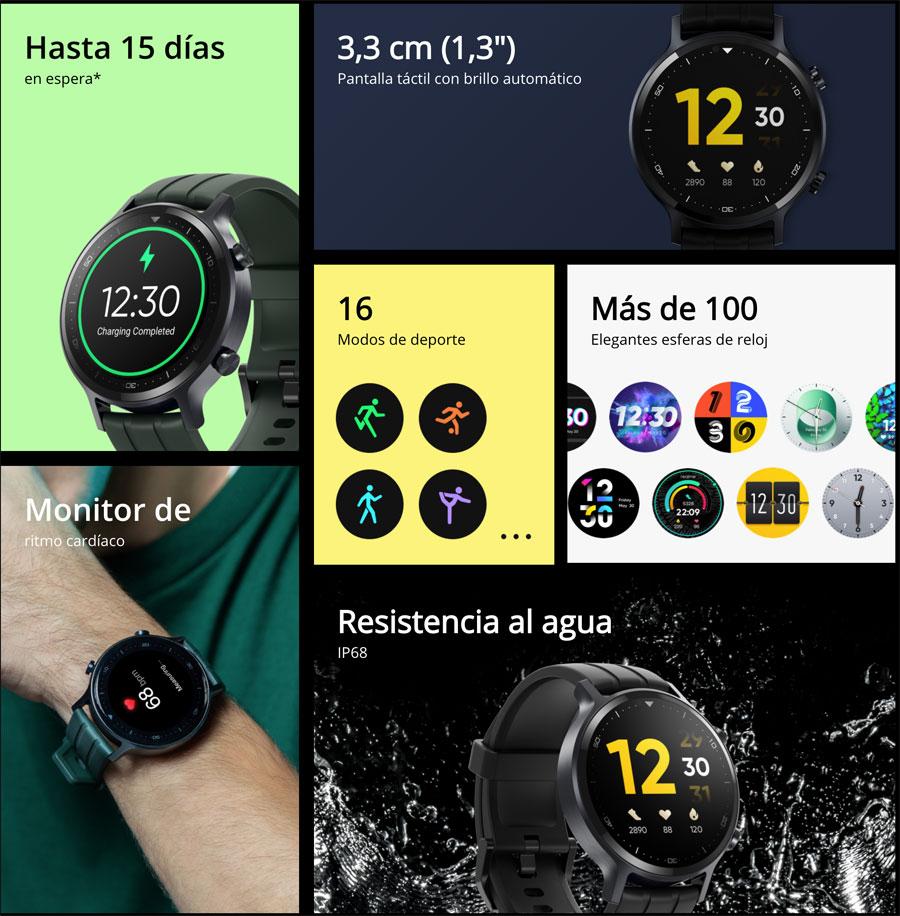Ventajas del realme Watch S