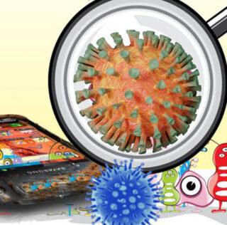 Su smartphone es un coctel de bacterias!