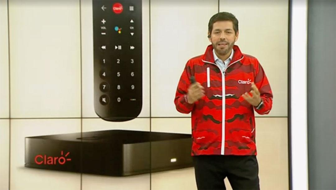 Presentación de Claro Box TV