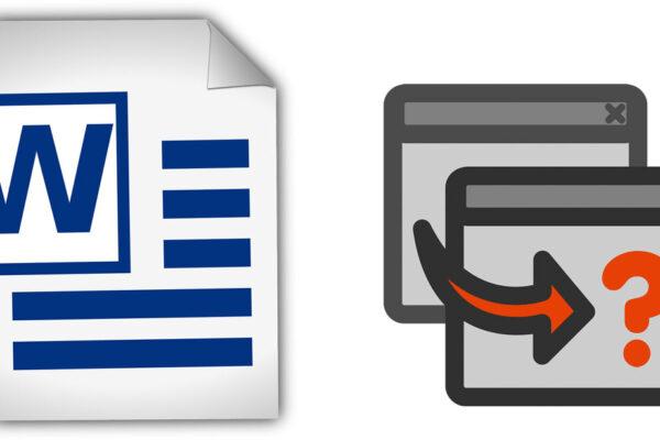 Comparación de documentos en Word
