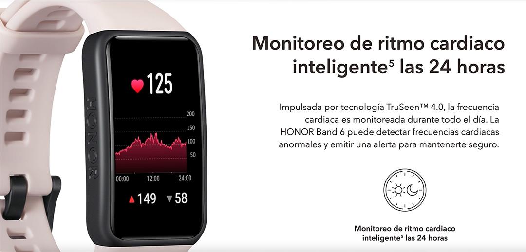 Monitoreo de ritmo cardiaco