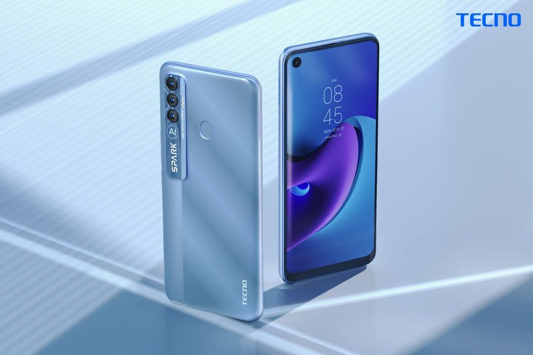 Tecno Spark 7 Pro Azul