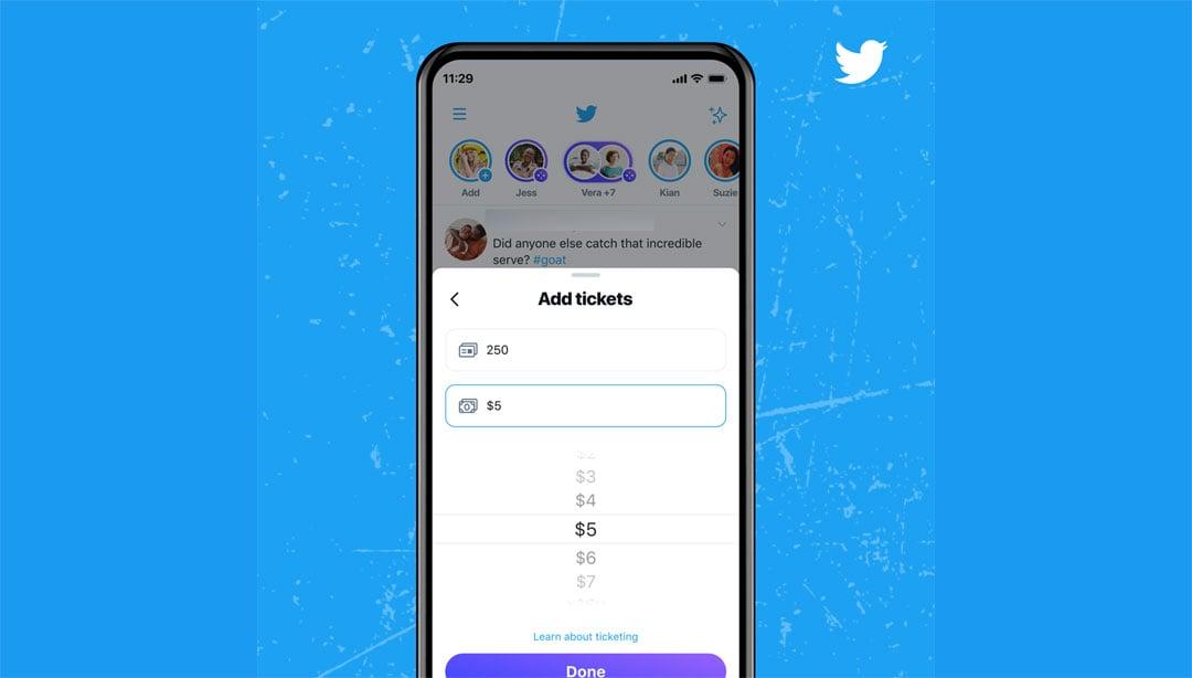 Ticketed Spaces en Twitter