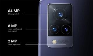 Set de cámaras posteriores del vivo V21