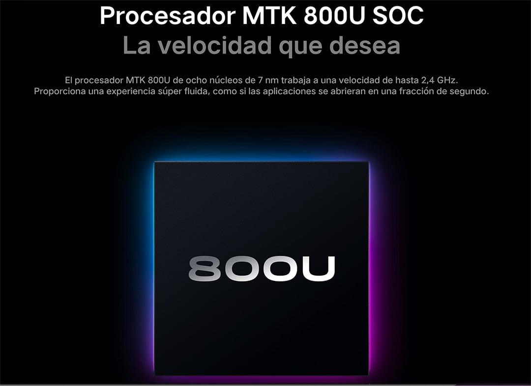 MediaTek Dimensity 800U con tecnología de 7nm
