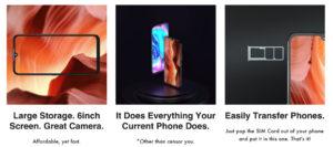 Estas son las especificaciones disponibles hasta el momento para el Freedom Phone