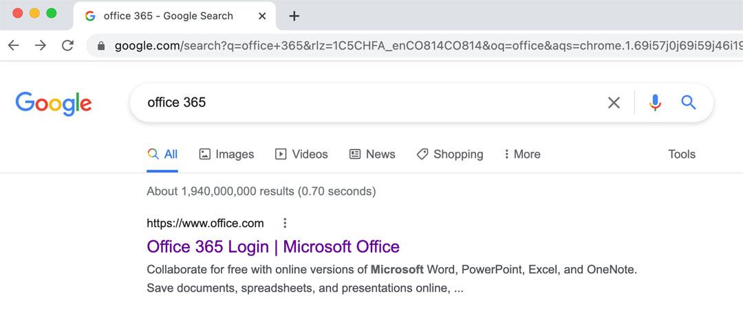 Hacer LogIn en Office 365