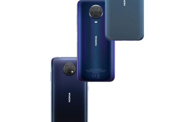 Nokia G10, G20 y X20 versión vertical