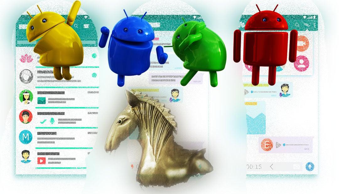 Troyanos en Android