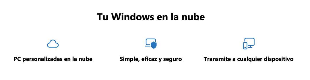 Ventajas de Windows 365 según Microsoft